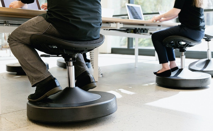 Balanced Active Sitting Chair Get Fit While You Sit By