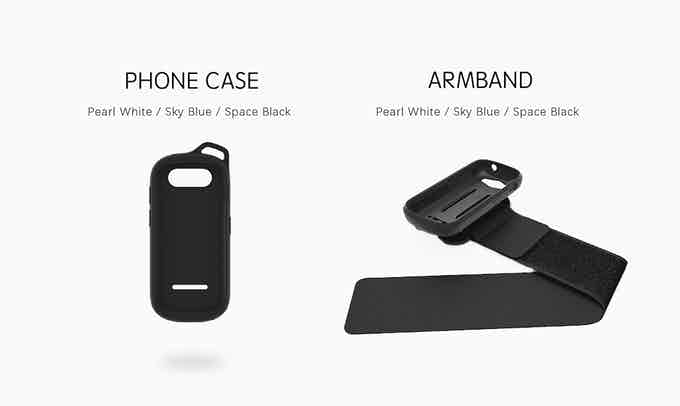 Case Vs. Armband (band+case)