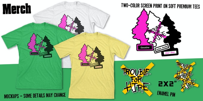 You will be asked for your choice of color and size after the campaign.