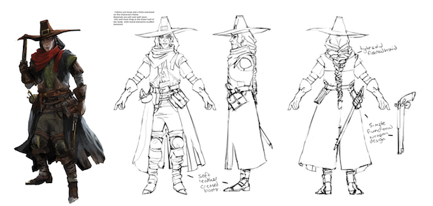Concept art for Eisen Witchhunter