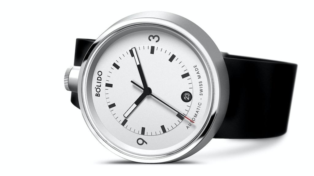 Bólido – Swiss selfwinding mechanical timepieces project video thumbnail