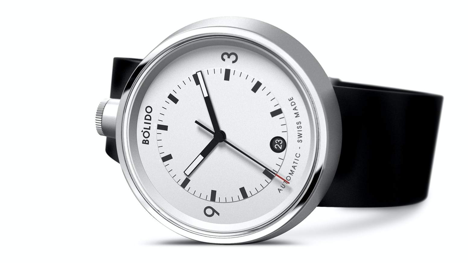 Uncompromising watches with an iconic design 100% made in Switzerland at a totally un-Swiss price.