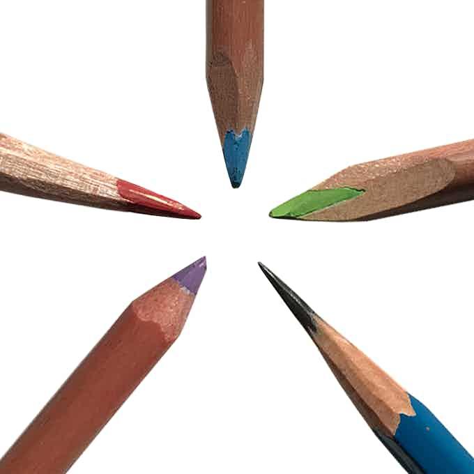 Sharpen any pencil to any point