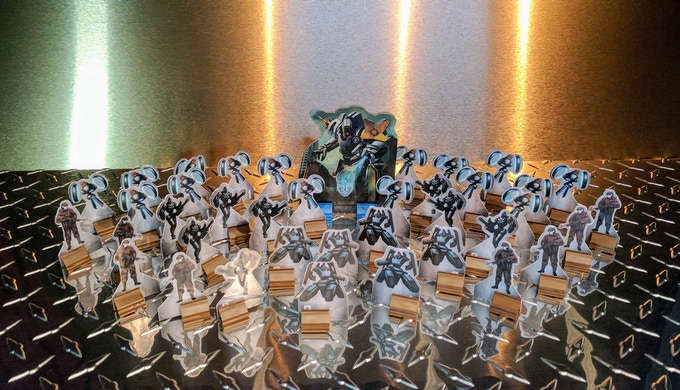 A horde of standees to invade DC under Dominus' control!