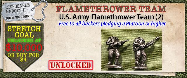 Stretch Goal $10,000 - USA Flamethrower Team