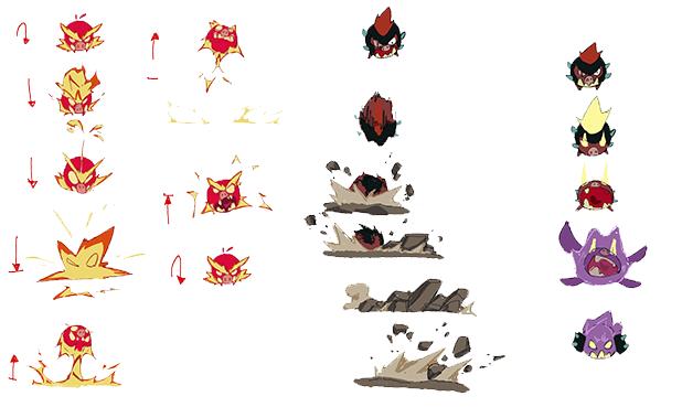 Character Design Quarterly Kickstarter : Savage road to darkness by artcle studio —kickstarter