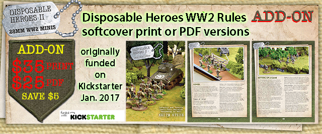 Add-on: Disposable Heroes WW2 Rules