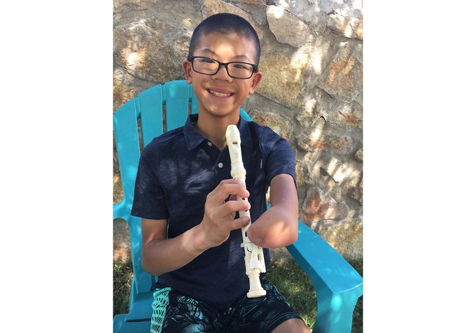 """The recorder is awesome because I can have a chance to play an instrument I can't usually play. I never thought anyone would make something like this!"""