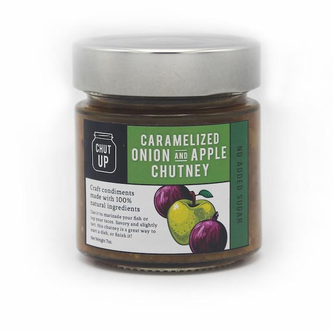 CHUT UP Caramelized Onion + Apple Chutney