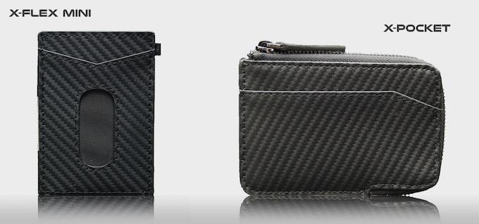 X-Flex mini and X-Pocket wallet