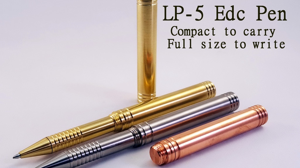 LP-5 Pen: Compact to carry full size to write project video thumbnail