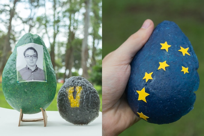 School photo and school colors /// Starry night, the big dipper