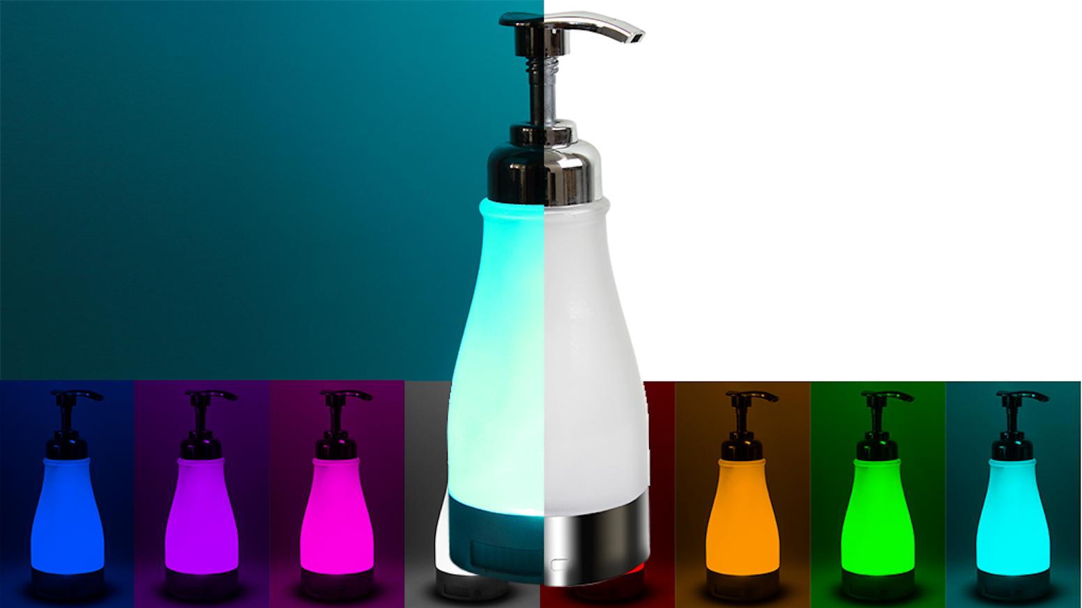 illumiSoap: Night Light Soap Dispenser (by illumiBowl) by illumiSoap ...