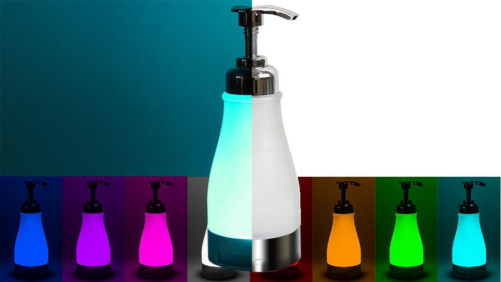illumiSoap: Night Light Soap Dispenser (by illumiBowl) project video thumbnail