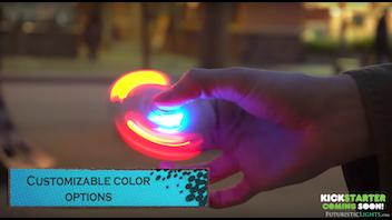 Galaxy LED Fidget Spinner