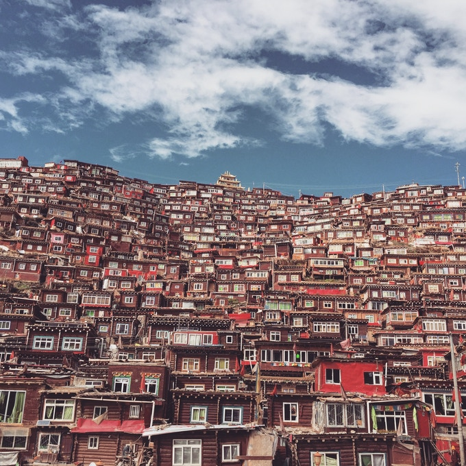 Extend your trip to visit the Monastary Town of Larung Gar