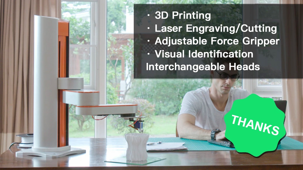 Z-Arm: A digital fabrication system makes anything you want project video thumbnail