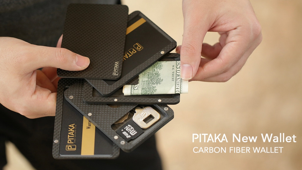 PITAKA - Redefine Carbon Fiber Wallet