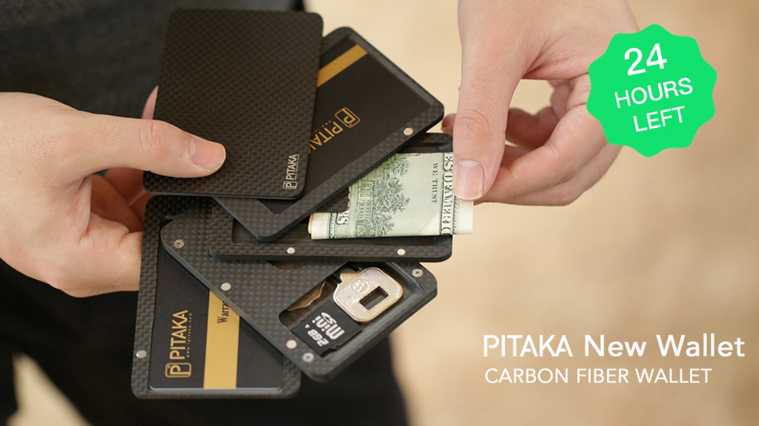 Modular, Magnetic-Stripe Friendly, & RFID-Blocking. The PITAKA New Wallet keeps all your daily essentials secure and in a quick flick.