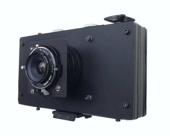 Twofourths 612+e Camera diy kit, Topcon 75mm f5.6
