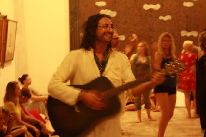Shervin at Sufi Night at ARMA Museum, Ubud