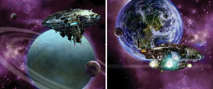 Perform Missions and form Trade Agreements with other Worlds!