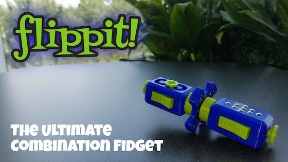 FLIPPIT! The Ultimate Combination Fidget