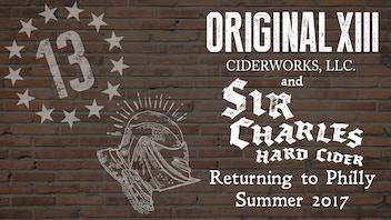 Original 13 Ciderworks, Makers of Sir Charles Hard Cider