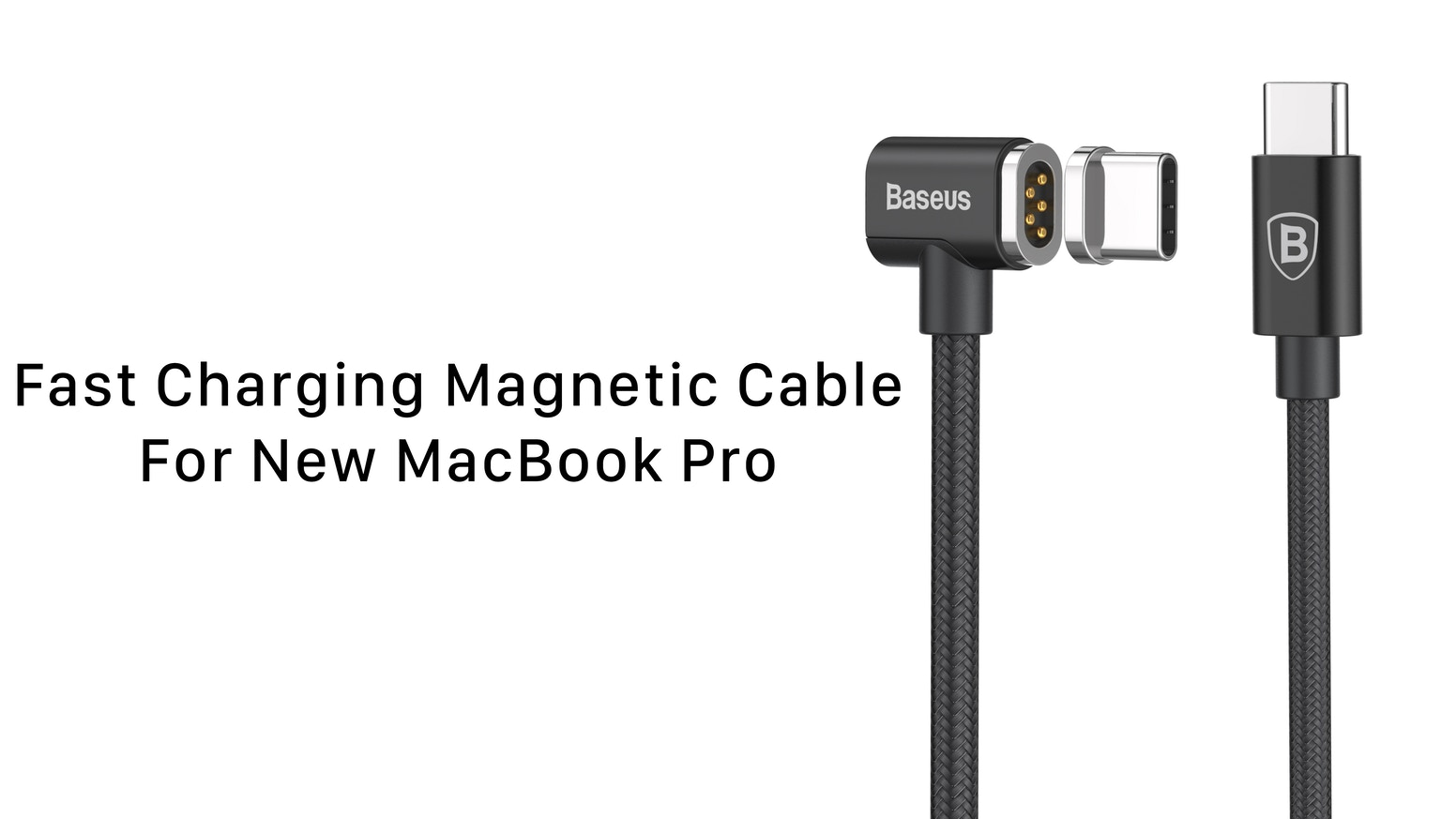 Baseus Worlds Fastest Magnetic Usb C Cable For Macbook Pro By Kabel Power Adaptor Charger Laptop 3 Lubang The First And To Charge Your New Any Device
