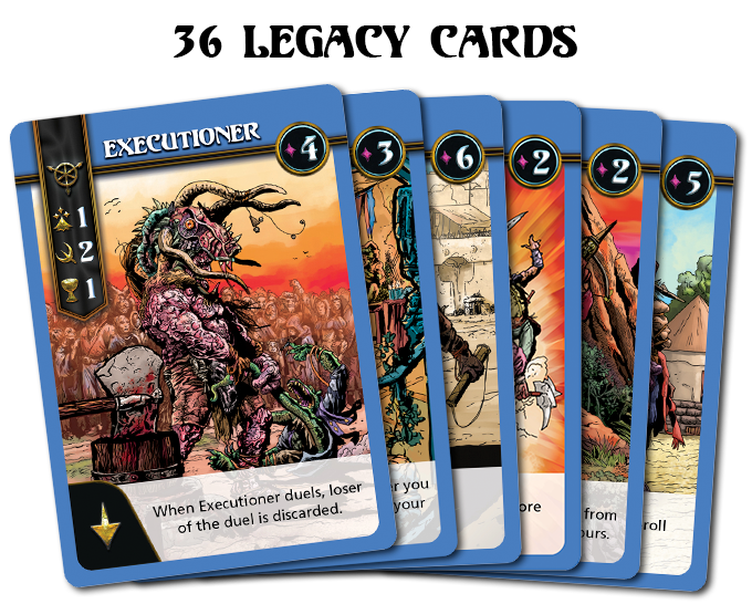 Click to view all 6 Feral Legacy Cards