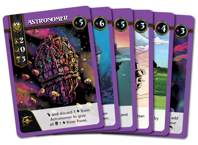 Click to view all 6 Overseer Legacy Cards