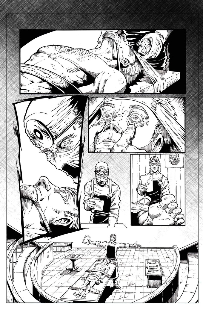 Inked pages example