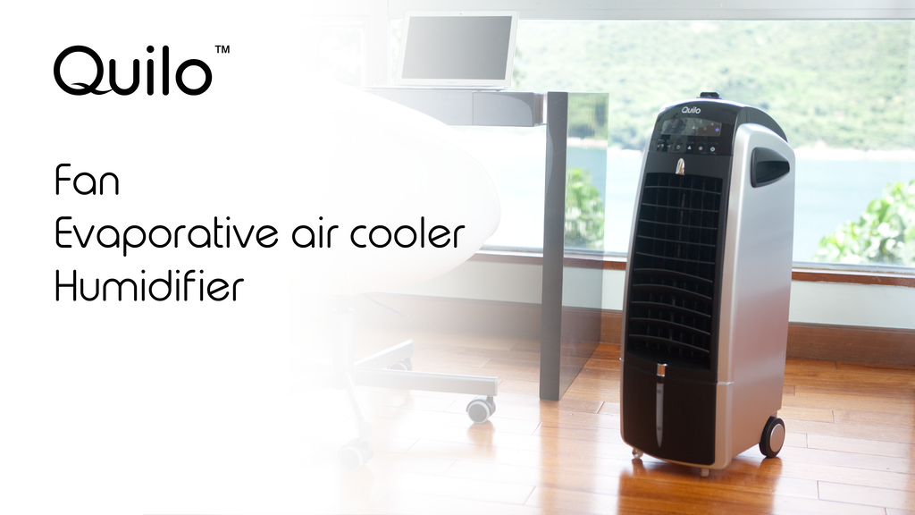 Quilo Fan with Evaporative Air Cooler and Humidifier project video thumbnail
