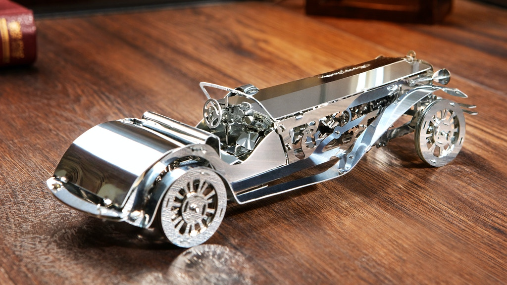 Time 4 Machine - Exclusive Mechanical Models Made of Metal project video thumbnail