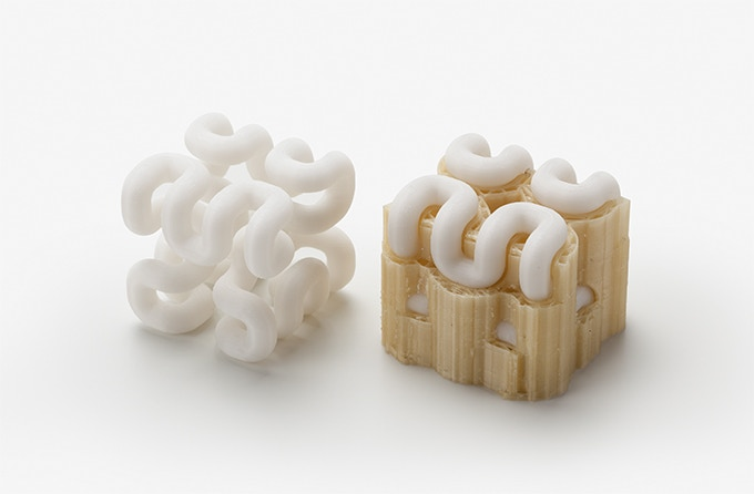 Ivory Color - Water soluble material | You can make all shapes!