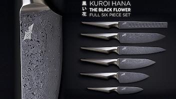 Kuroi Hana Japanese Knife Collection - Edge of Belgravia