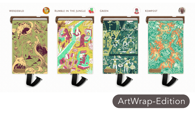 'Click' für große Darstellungen und Hintergrundinfos über die Künstler