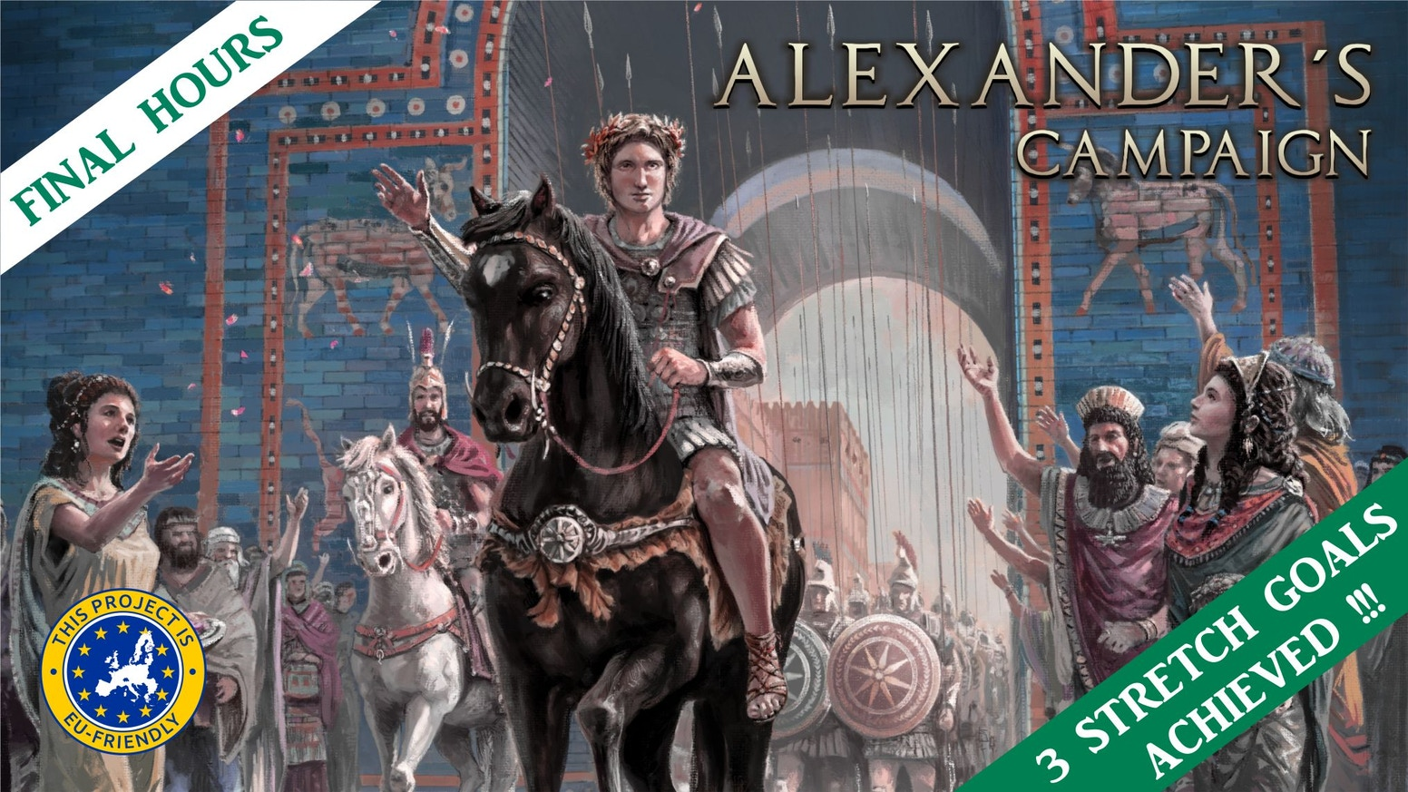 Join Alexander the Great as his general in a fast paced tactical historical and educational board game.