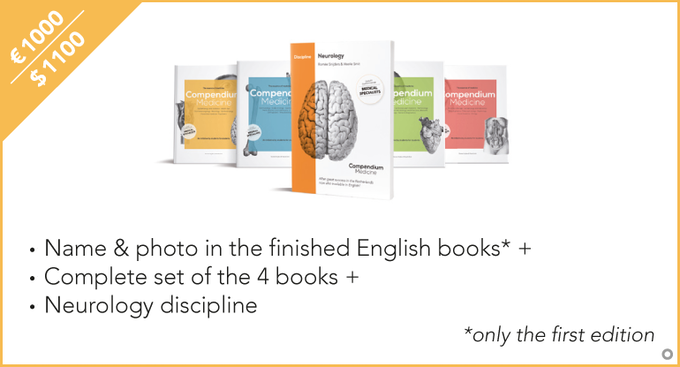 Be featured in the first print of our books with your name + picture/logo of your choosing!
