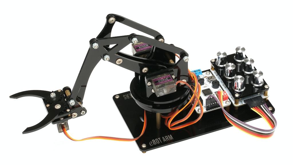 eLab Peers eBOT ARM project video thumbnail