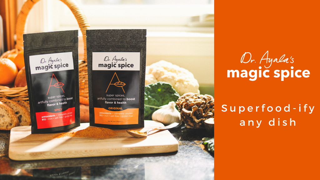 Dr. Ayala's Magic Spice: Make any dish a delicious superfood project video thumbnail