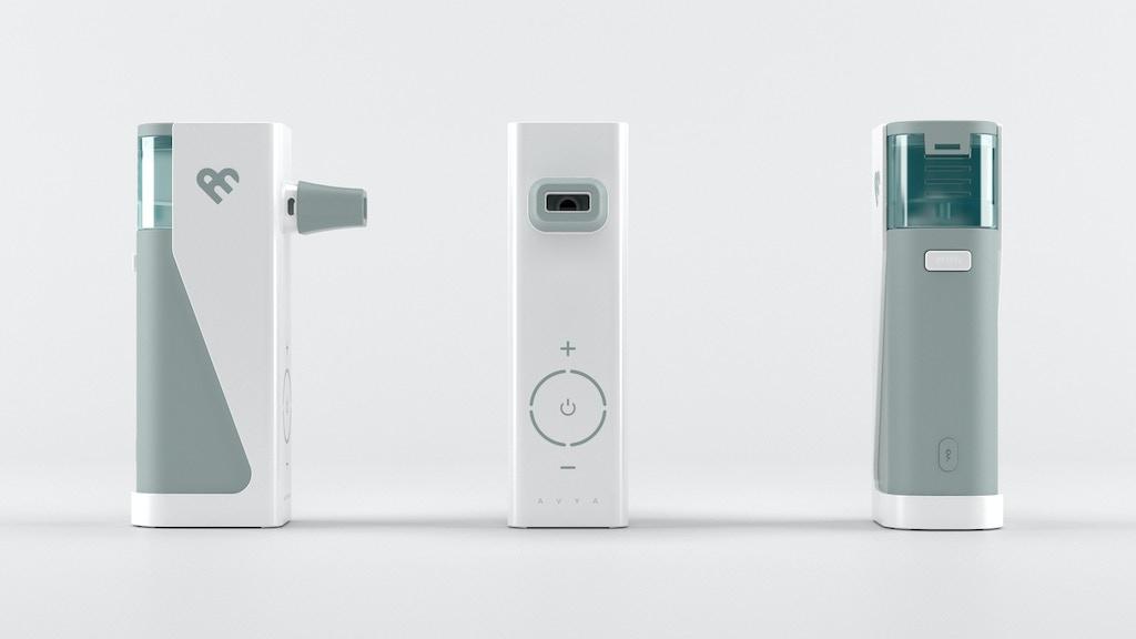 Avya - The Battery-Powered Steam Inhaler by Aura Medical