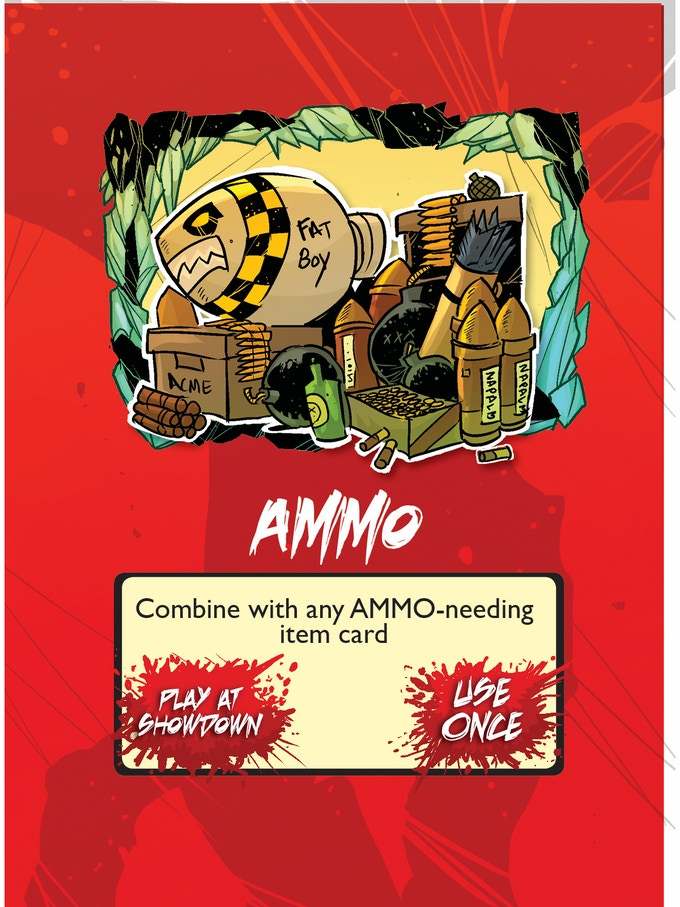 item card, ammo