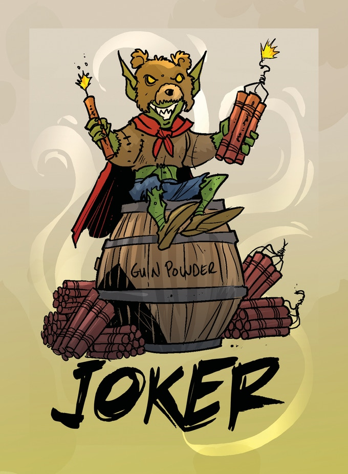 poker cards, joker