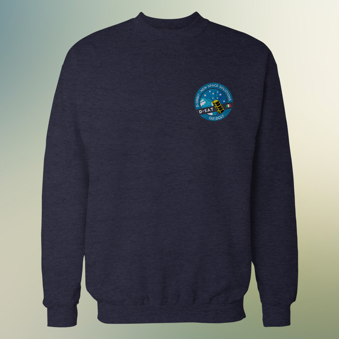 Mission Sweatshirt, available at the Star-Gazer level