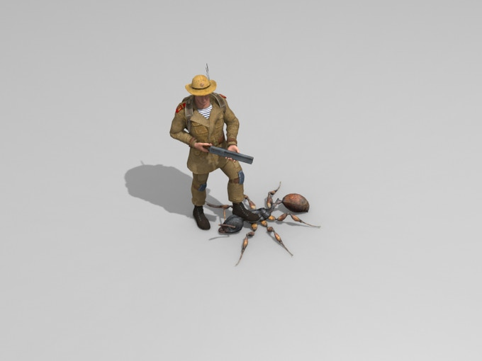 The Ranger render - work in progress