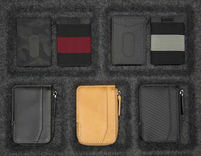 X-Pocket and X-Flex mini RFID slim wallet