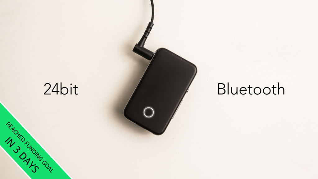 EarStudio: World's first studio-quality Bluetooth receiver project video thumbnail