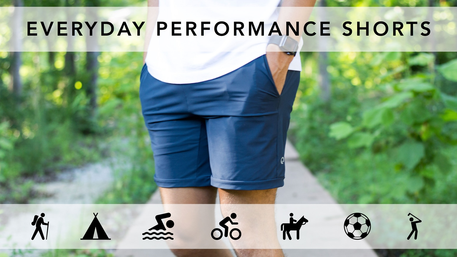 Meet our everyday performance shorts. We've created a refined and functional short, designed for a life in motion.