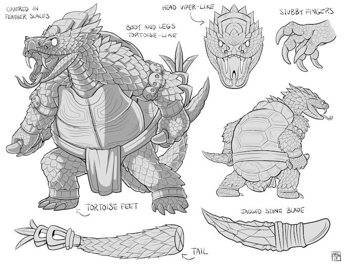 Yahui, the Turtle Demon of Sacrifice - $15